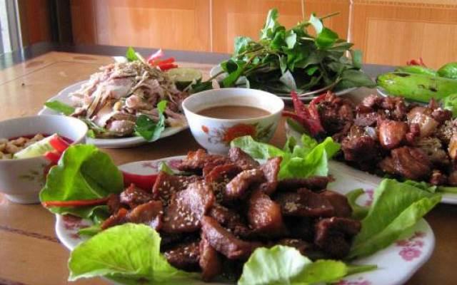 Đặc sản thịt dê Ninh Bình