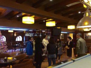 Đoàn khảo sát các dịch vụ của Khách sạn Ninh Bình Legend.