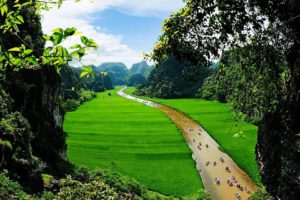 Tam Cốc - Kỳ quan tuyệt mỹ của Ninh Bình đã được thiên nhiên ban tặng